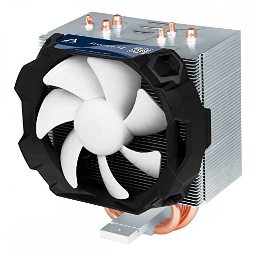 ARCTIC Freezer 12 - Kompakter semi-passiver Tower CPU-Kühler | 92 mm PWM Fan | Kompatibel zu AMD AM4 und Intel 115x CPUs | Empfohlen bis zu 130 W TDP - 3-speed Lüfter Sockel