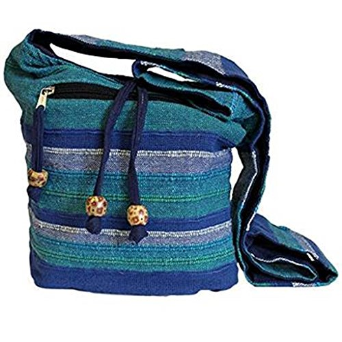 Dochsa , Damen Schultertasche Blue Rivers