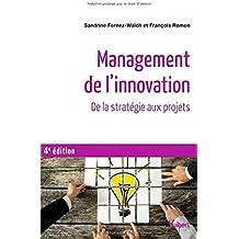 Management de l'innovation - De la stratégie aux projets