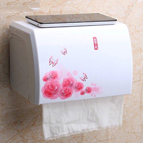 NAUY- Carta igienica Scatola igienica scatola di carta igienica scatola di carta igienica carta igienica rotolo vassoio Vassoio carta ( colore : #1 )