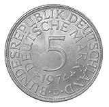 5 DM Silberadler 1974 Die bundesdeutsche Legende Der Heiermann