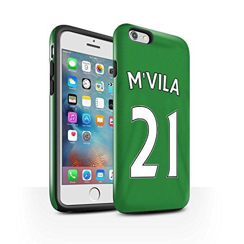 Officiel Sunderland AFC Coque / Brillant Robuste Antichoc Etui pour Apple iPhone 6S+/Plus / Pack 24pcs Design / SAFC Maillot Extérieur 15/16 Collection M'Vila