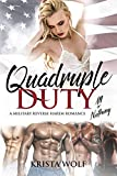 They took turns kissing me, as they so often did.  Long, deep, loving kisses.  Soulful.  Beautiful.  So incredibly amazing…Three years after answering a wickedly outrageous ad and falling in love with FOUR gorgeous Army Ranger Specialists, Sammara Ma...