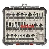 Bosch Professional 2607017474 Set (Legno, per frese Verticali)