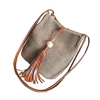 Black Temptation Bolso de hombro elegante del bolso de la manera del bolso de la armadura de la paja de las mujeres, A11