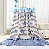 samLIKE Super Soft Warm Solide Warm Micro Plüsch Fleece Decke Werfen Teppich Sofa Bettwäsche (G)