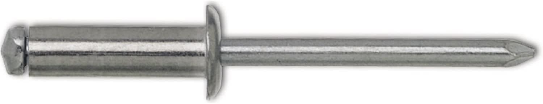 Gesipa Blindniete Stahl 4 x 10 mm 1433556 Blindniettechnik 500 St/ück,