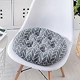 XMZDDZ Gepolsterte Anti-rutsch Büro-Stuhl-Kissen,Stuhl-pad Für Esszimmer Stühle Erwachsenen Sitzerhöhung Auto Sitz Sitzkissen Boden Tatami Mat-E 40x40cm(16x16inch)