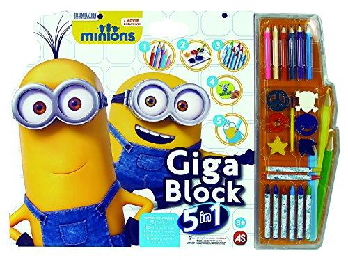 Minions - set gioca e colora deluxe 1023-62692