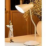 ledmomo tattili lampada da tavolo USB Carica Cura degli occhi dimmer lampada da lettura a LED per Home Office (bianco)