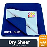 Bey Bee Quick Dry Baby Bed Protector Waterproof Sheet - Large