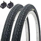 Best Los neumáticos de bicicletas - Fincci- Par de Neumáticos para Bicicleta Híbrida Review