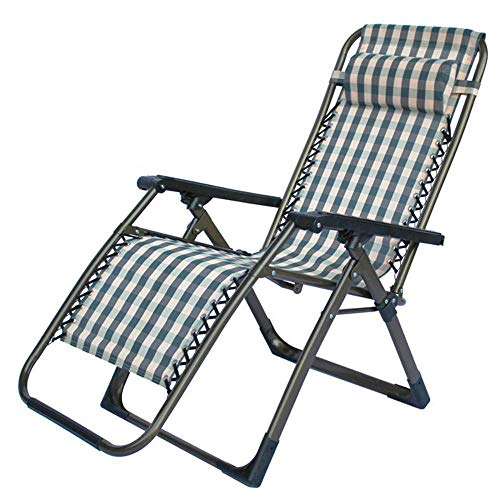 Yunfeng Klappbare Stühle Luxus/Mode/Mittagspause Seite Rohr Folding Lounge Chair Lounge