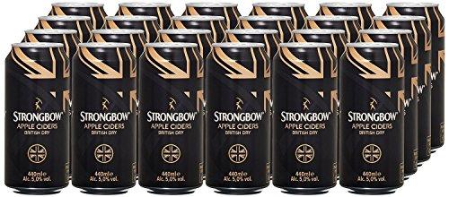 Strongbow Cider British Dry Dosen (24 x 0.44 l)
