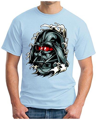 OM3 - DARK-VADER - T-Shirt, S - 5XL Himmelblau