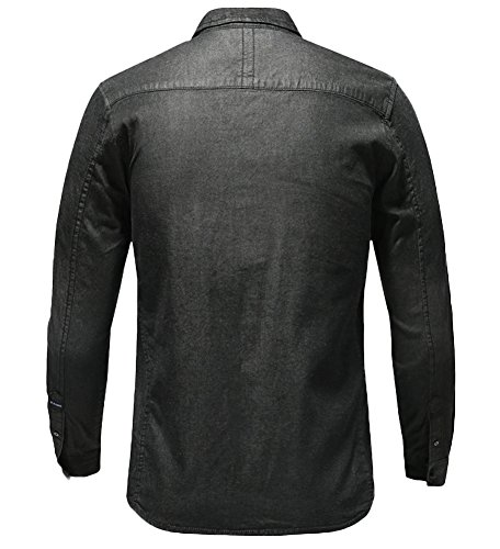 ICEGREY -  Camicia Casual  - Uomo Black
