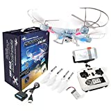 DROHNENSTORE24.DE ...DER DROHNEN-GURU DS24 Spooky SYM X5C WiFi Quadrocopter Drohne FPV Design Transparent
