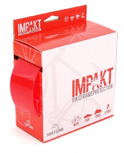 MSC Bikes Impakt.1.2Xmm50mmx5 - Protector de cuadros y vainas de ciclismo, color transparente