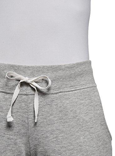 oodji Ultra Femme Pantalon de Sport en Maille Gris (2000M)