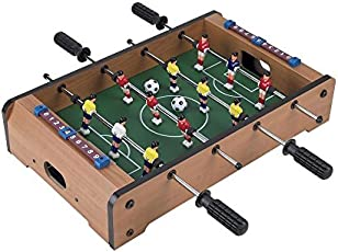 Fantasy Wooden India Soccer Game for Indoor (Multicolour)