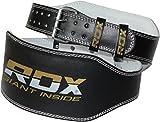 RDX Gimnasio Cinturón Cuero 6' Musculacion Peso Cinturones Pesas Entrenamiento Levantamiento