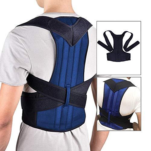 Domeilleur Rücken Körperhaltung Korrektor Schulter Lendenwirbelsäule Stütze Wirbelsäule Unterstützung Verstellbarer Gürtel Körperpflege -