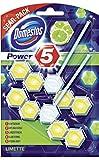 Domestos Power 5 Duopack Limette Blister Packung, 7er Pack (7 x 110 ml)