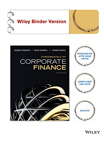 Fundamentals of Corporate Finance + Wileyplus (Corporate Parrino Finance)