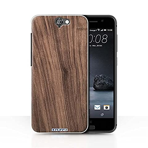 Coque de Stuff4 / Coque pour HTC One A9 / Noyer Design / Motif Grain de Bois Collection