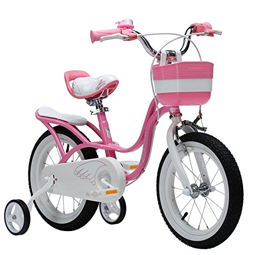 ZHIRONG Bicyclette Pour Enfants Rose Taille 12 Pouces, 14 Pouces, 16 Pouces, 18 Pouces Sortie Extérieure ( taille : 12 inch )