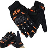 #3: Vheelocityin KTM Gloves KTM Bike Riding Gloves Orange and Black - XL