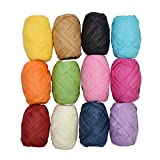 #3: Asian Hobby Crafts Paper Ribbon Yarn Box (Pack of 12)