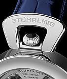 Stuhrling Original Herren-Armbanduhr Special Reserve Emperor's Grandeur Analog Mechanisch-Automatiche 127A.3315C2 - 5