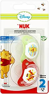 NUK Winnie the Pooh Silicone Soother 6-18 months