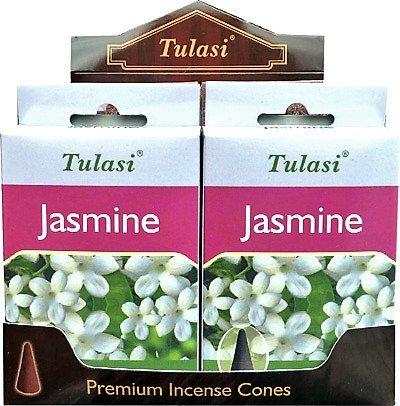 Incienso Tulasi - jasmine - 4 cajas de 15 conos - preisvergleich