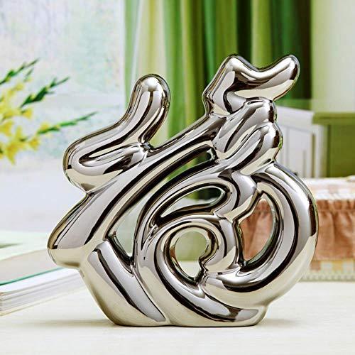 ne Keramik Figuren Wohnzimmer Ornament Von Einrichtungsdekoration Handwerk Büro Kaffee Zubehör Hochzeitsgeschenk, K ()