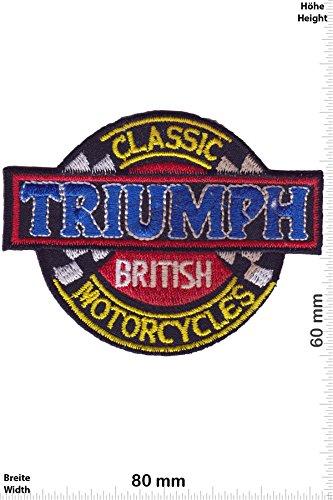 Parches - Triumph British Classic Motorcycles - Deportes de Motor - Deportes - Motos - Triumph - Parche Termoadhesivos Bordado Apliques - Patch