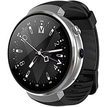 LEMFO LEM7 - Android 7.0 4G LTE Smartwatch, Reloj teléfono cámara de 2MP, MT6737