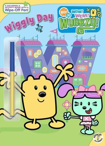 Wiggly Day (Nick Jr. Wow! Wow! Wubbzy!) by Tina Gallo (2008-11-04)