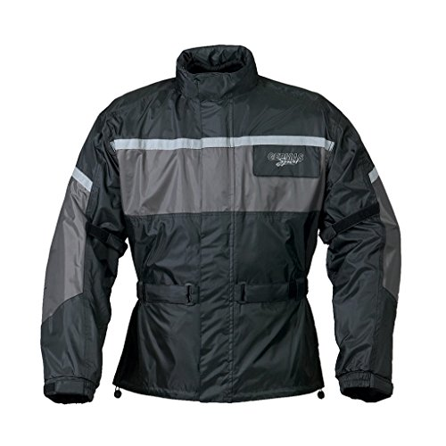 Preisvergleich Produktbild Regenjacke Leeds schwarz / grau XS