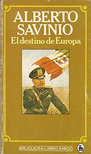 Portada del libro EL DESTINO DE EUROPA