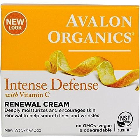 Avalon Active Organics Erneuernde Gesichtscreme mit Vitamin C 60 ml