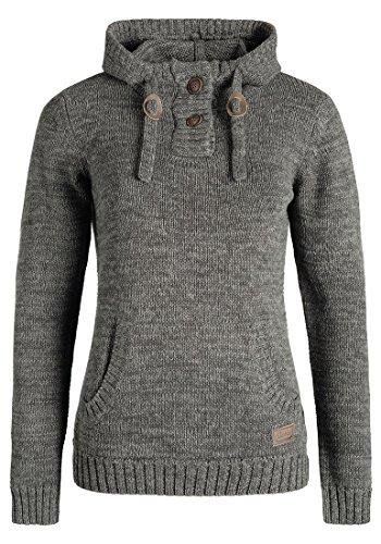 DESIRES Philaria Strickpullover, Größe:L;Farbe:Dark Grey (2890)