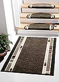 Casa Design 3617 Edelvelours -Läuferware, Teppichläufer, Läufer Breite 80 cm x 550 cm lang Fb.221 braun, gewebt und rundum gekettelt. Teppichläufer Meterware 80 cm breit nach Maß Teppich Brücke Flur in vielen Längen lieferbar Gewicht ca. 1800 g/m² 100% Polypropylen auf Wunsch auch cm-genau zugeschnitten. Dazu auf Wunsch passende Stufenmatten im Euromaß ca. 65 cm ca. 23.5 ca. 3.5 cm 1 Meter fertig konfektionierter Läufer wiegt : 1206 g
