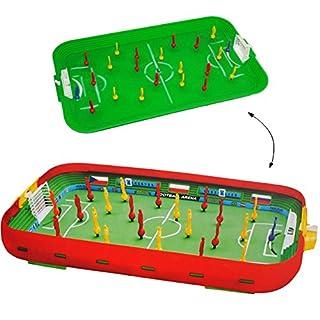 alles-meine.de GmbH Tischfußball - Spiel __ Komplettset incl. Spieler & Ball & Tor - Fußballspiel - Fußball / Kicker für den Tisch - Tischfussball Spiel - Tischfußballspiel - Kic..