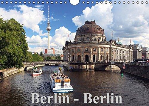 Berlin - Berlin (Wandkalender immerwährend DIN A4 quer): Berlin - die Weltstadt mit den tausend Gesichtern! (Monatskalender, 14 Seiten) por Frank Herrmann