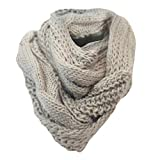 Ladies Winter Warm Soft Comfy Snood Womens Warm Towie Scarf Scarves Snood Gift Idea Brown