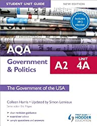 AQA A2 Government & Politics Student Unit Guide New Edition: Unit 4A The Government of the USA Updated (English Edition)
