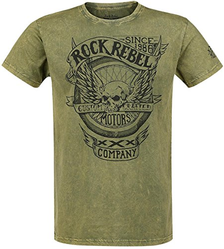 Rock Rebel by EMP Motors Company T-Shirt verde S