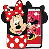 GODRIC® Cute Cartoon Micky Mouse Soft Silicone and Rubber Back Case Cover for VIVO Y55